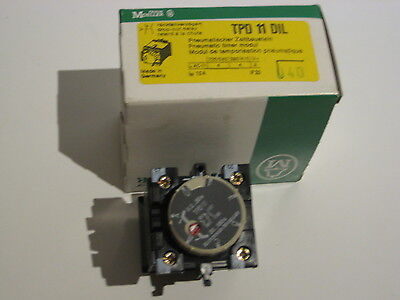 MOELLER TPD11DIL Auxiliary Contact Head TPD 11DIL - NOS DIL