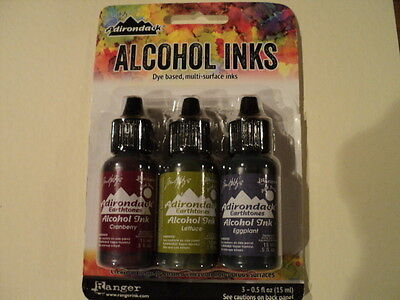 TIM HOLTZ Adirondack Alcohol Ink 3 Pk 'FARMERS MARKET' BNIP **LOOK**