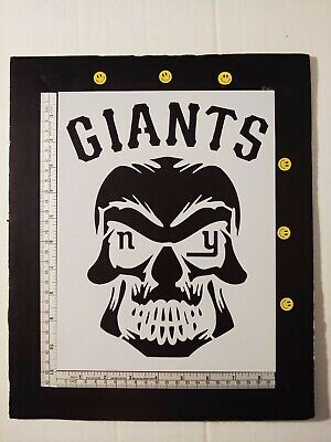 "New York Mets NY 8.5/"" x 11/"" Custom Stencil FAST FREE SHIPPING"