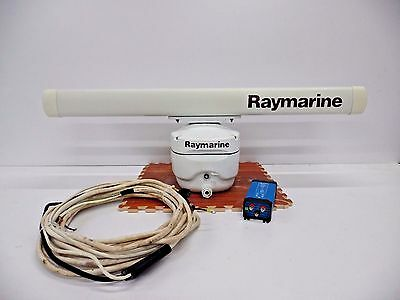 Raymarine M92655-S LOW HOURS 10kw Open Array for C & E Series Classic w/ Step-Up