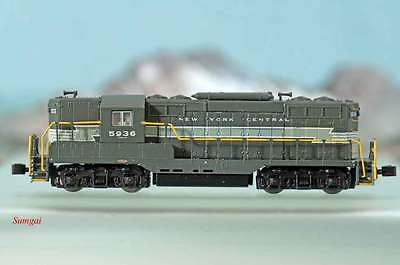 Z Scale American Z Line AZL 62007 New York Central Torpedo Tubes EMD GP7 5936 NB