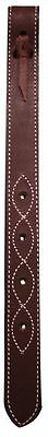 "SHOWMAN BURGUNDY 18"" Leather Off Billet For Western Saddle! NEW HORSE TACK!"