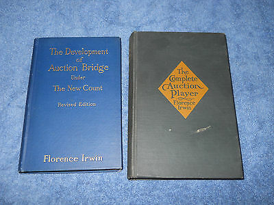 The Complete Auction Player Development of Bridge Under New Count Florence Irwin