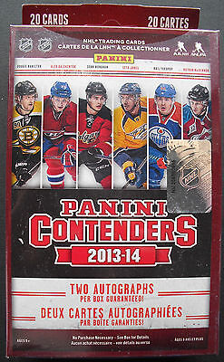 Panini Contenders NHL Hockey 2013-2012 20 Cards - 2 Autographs