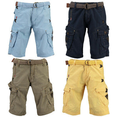 Geographical Norway Herren Bermuda Short Parapente Mens Shorts Sommer Hose Cargo