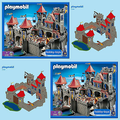 Playmobil * KNIGHTS EMPIRE CASTLE 3268 * Spares Parts * Max UK P&P £2.99 / Order