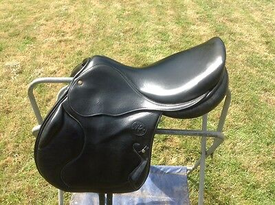 Pariani Military GP Saddle 17/M - Used - Black