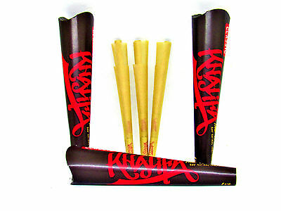 3 Pack Wiz Khalifa Pre Rolled Cones 1 1/4 Size - 6 Cones Each - RYO RAW Tobacco