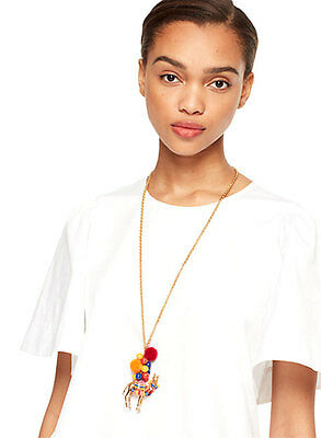 NEW Kate Spade Spice Things Up Camel Pendant Necklace