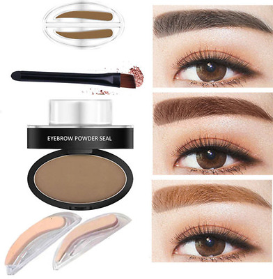 Eyebrow Shadow Definition Makeup Brow Stamp Powder Palette Natural UK NEW