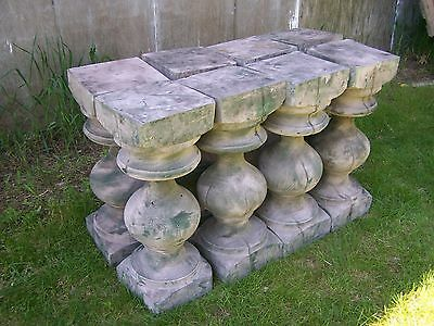 wood balusters,pair wood pedestals,two wood columns,rustic plant stands, two