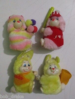 CARE BEARS clones Clip On Huggers toy doll figure baseball OSOS cute