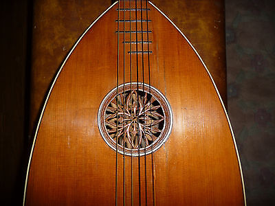 Antique European 20Th Century Lute Guitar