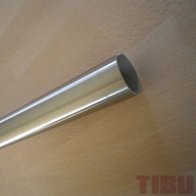 Stainless steel tubing Round Tube 42,4 x 2mm 240Korn ground V2A tube