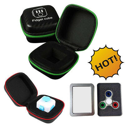 Bag Box Carry Case Packet Gift For Fidget Cube Anxiety Stress Relief Focus Toys