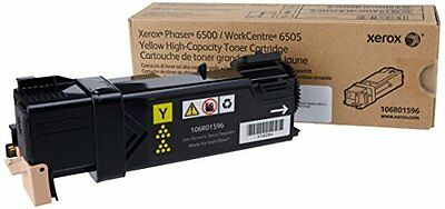 Xerox Phaser 6500-Magenta Toner-2,500 Page Yield Xer106R01595 New
