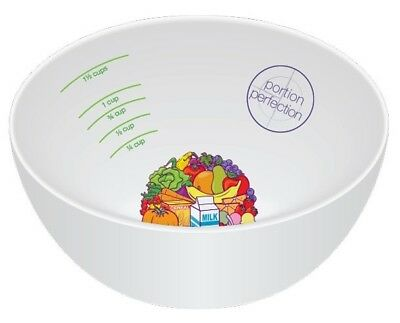 Portion Perfection Bowl - Melamine (A diet bowl for portion control)