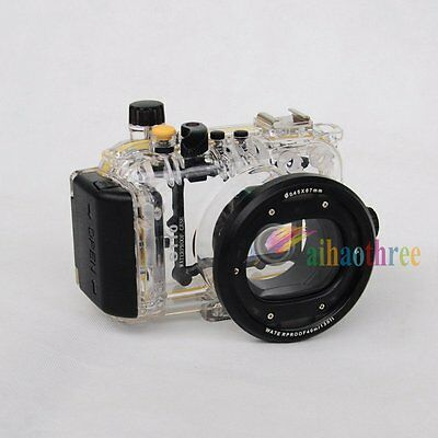 Meikon 40M 130ft WaterProof Diving Housing Case Cover For Canon S110 Camera【AU】