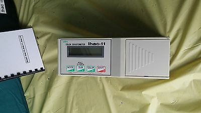 IHAC - 11  Color Reflection Densitometer w/ calibration board