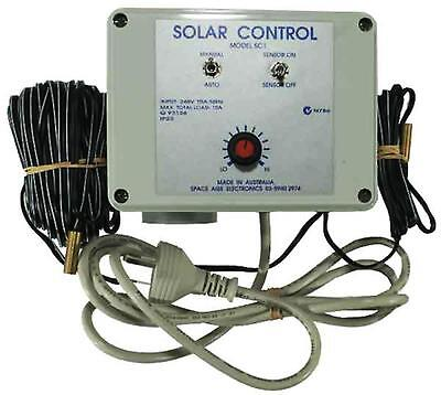 Swimming Pool Budget Solar Controller inc Roof and Pump Sensors
