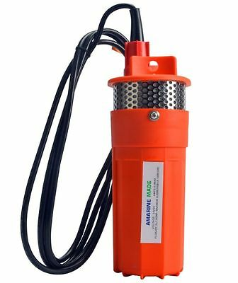 Farm & Ranch SOLAR POWERED Submersible DC Water Well Pump 24V 230 Feet + Lift