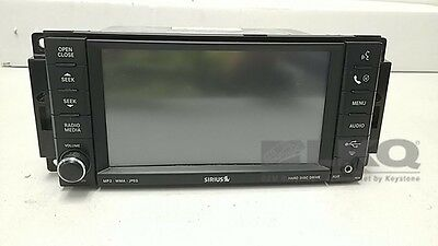 2009 Caravan Journey Town and Country Radio Receiver MP3 CD Player ID REN OEM