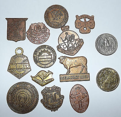 Dozen Medals and Medallions From Australia (#G540)