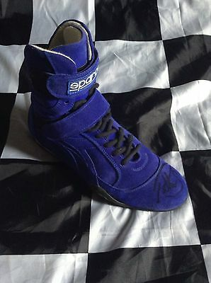 Petter Solberg Genuine Used & Signed Race Boot, Sparco, Subaru 2007 ROC