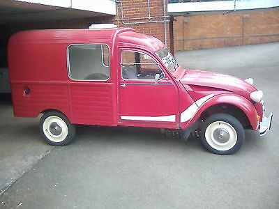 Citreon Rico 2Cv Fourgennette Van 1981 12 Months Mot Right Hand Drive