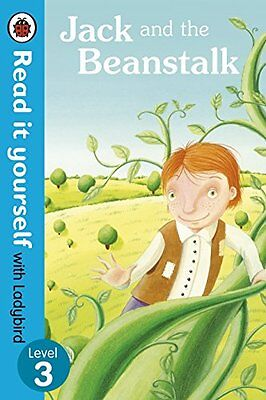 Jack and the Beanstalk - Read it yourself with Ladybird Le by  Hardback Book New