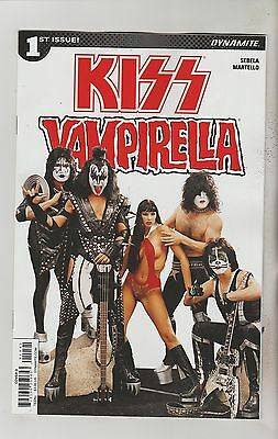 Dynamite Comics Kiss Vampirella #1 June 2017 Variant D Nm