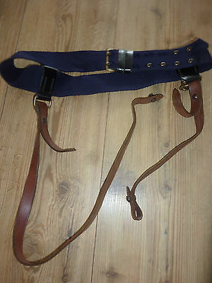 Household Cavalry Underbelt With Leather Sword Slings British Army Issue