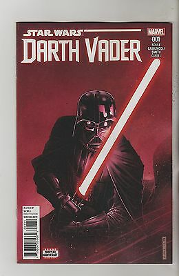 Marvel Comics Star Wars Darth Vader #1 August 2017 1St Print Nm