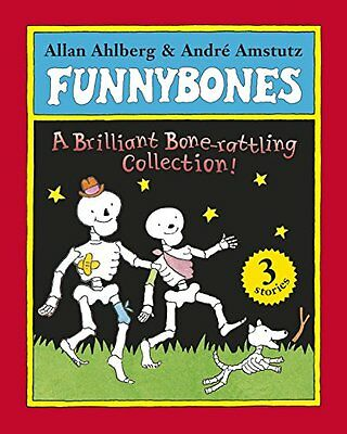 Funnybones A Bone Rattling Collection by Allan Ahlberg Paperback Book New