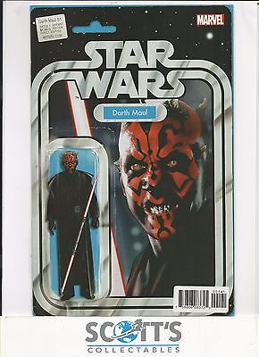 Darth Maul #1 Action Figure Variant (Board & Bagged) Freepost