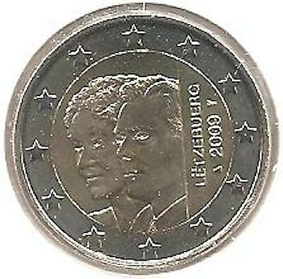 2 Euros - LUXEMBOURG - 2009 Coin NEW