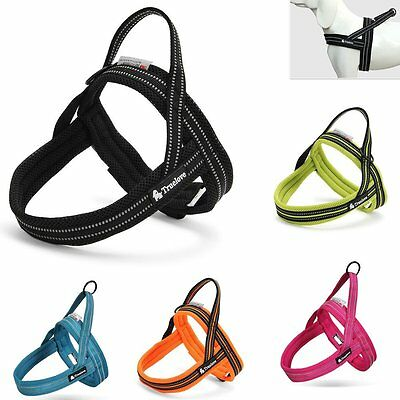 No-pull Dog Adjustable Reflective Strong Soft Pet Mesh Padded Quick Fit Harness