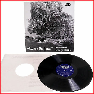 Shirley Collins Sweet England Argo RG 150 UK Decca Pressing DG 1st Pressing Folk