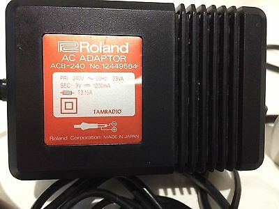 Roland ACB-240 Original Authentic Power Adapter 9V 1200mA. FREE Delivery.