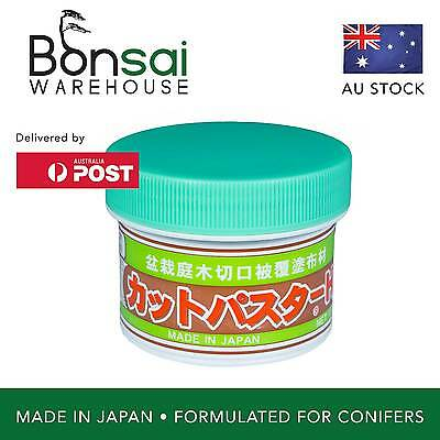 "Bonsai Cut Paste and Sealant - Made in Japan Green Lid ""Hi"" Tub 160g (Conifers)"