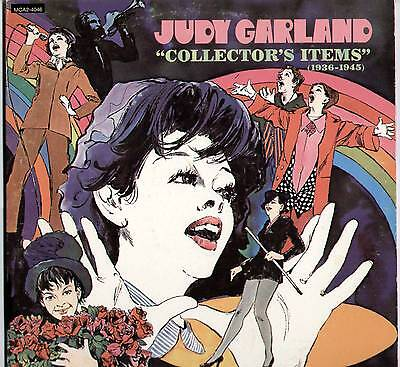 """Judy Garland ~ """"collector's Items"""" [1936-1945] ~ 1973 Us 24-Track 2Lp Record Set"""