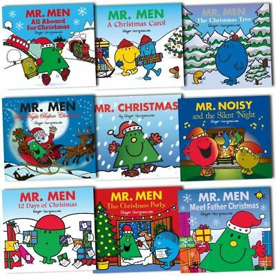 Mr. Men Christmas Childrens Collection 6 Books Set Pack NEW
