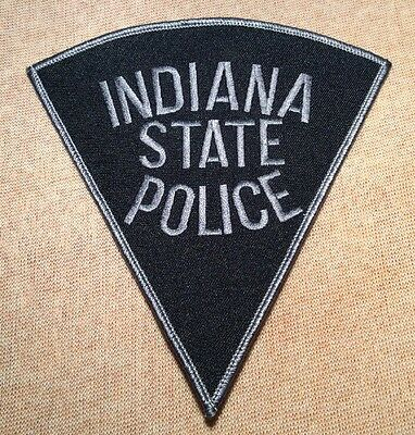 IN Indiana State Police Patch (Subdued/Gray Edging)