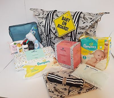 Pre Packed Maternity Hospital Overnight Bag - Packed with 16 Products