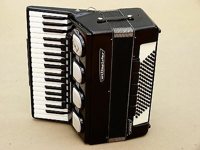 Very Nice German Accordion Weltmeister Stella 96 bass Including Case