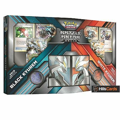 Pokemon Battle Arena Decks - Black Kyurem Vs White Kyurem -TCG Cards EX