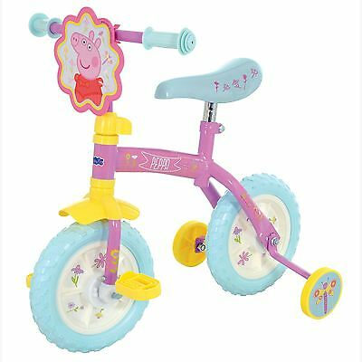 Peppa Pig 2 In 1 Training Bike New Bicycle 2+ Years Boxed Official