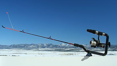 Ice-N-Easy ice fishing rod 18 inch medium heavy action