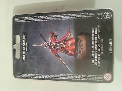 Warhammer 40K Eldar Farseer - New & Sealed