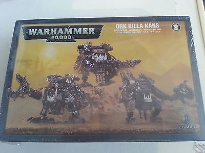 Warhammer 40K Ork Killa Kans - New And Sealed